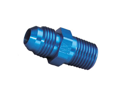 -6AN to 1/4NPT Straight Adapter