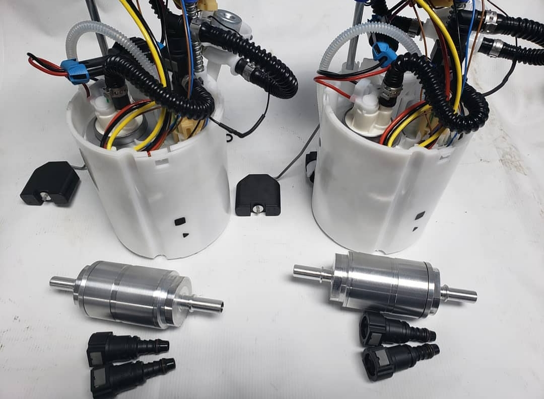 RS3/TTRS DAZA Double Pumper Upgraded Fuel Pump Kit