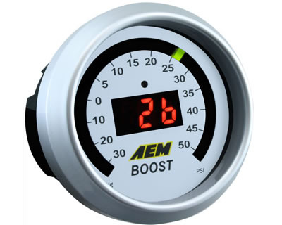AEM Digital Boost Gauge 50 PSI
